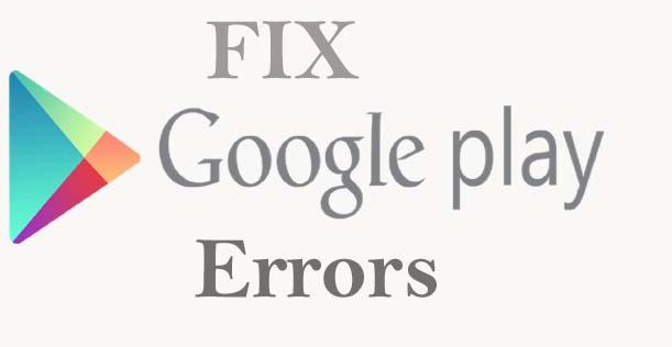 fix-Google-Play-error