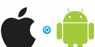 Share contacts & Files Between iPhone and Android