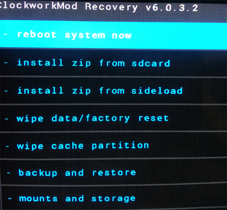 Install CWM Custom Recovery on Galaxy S3 GT-I9300 - DroidOpinions