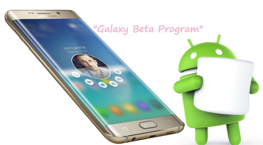 6.0 Marshmallow Beta on Galaxy S6/S6 edge