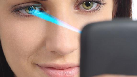 LG G5 iris scanner