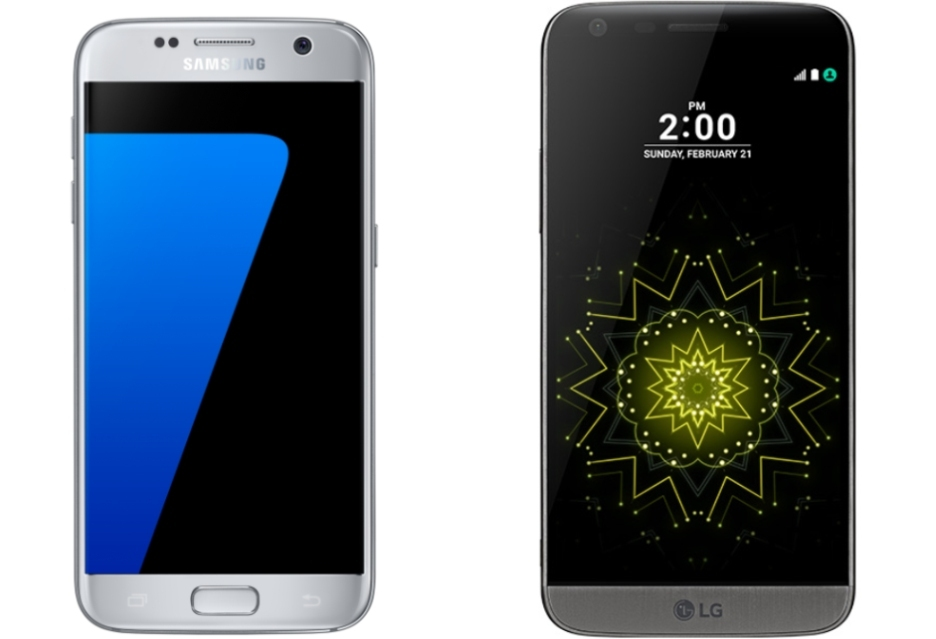 LG G5 and Galaxy S7