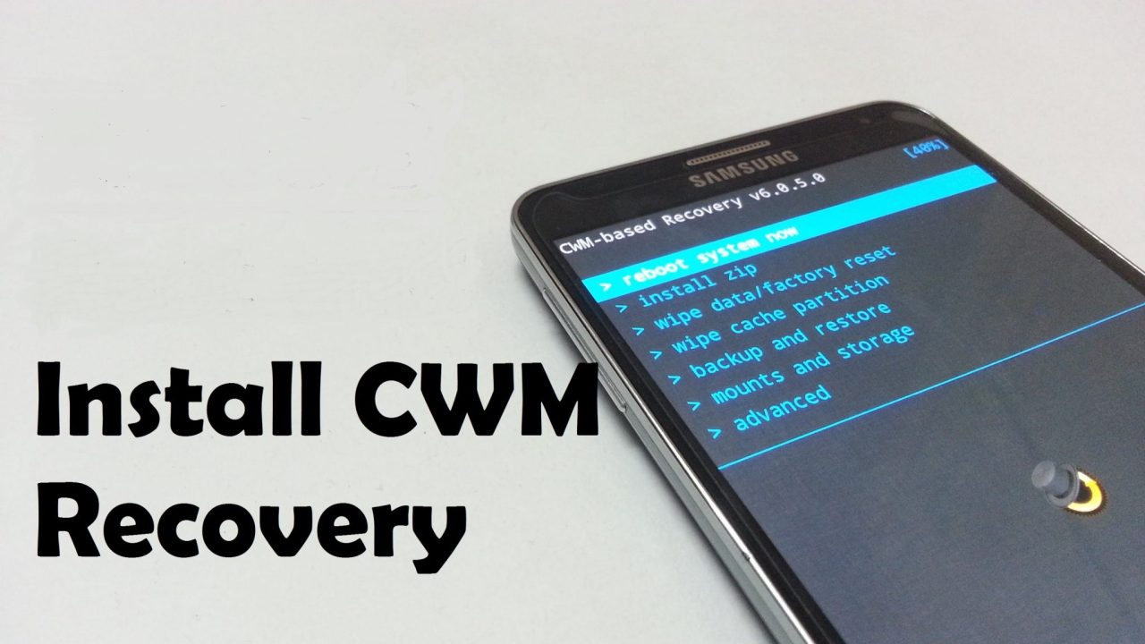 Install CWM CUSTOM RECOVERY on GALAXY NOTE 4 All Models - DroidOpinions