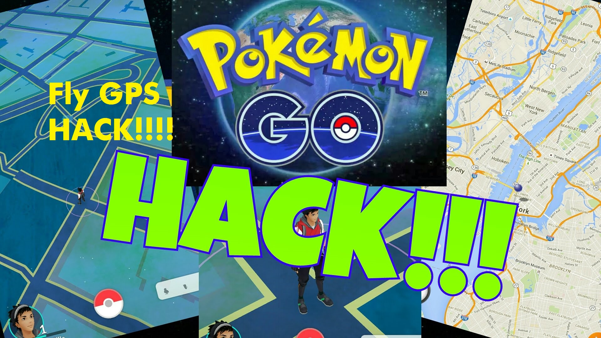 Fly GPS Pokemon GO Hack