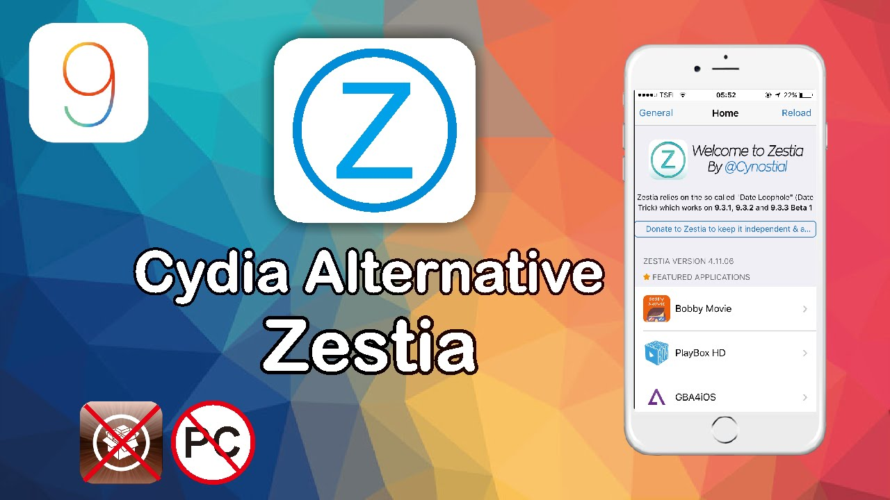 Zestia cydia alternative