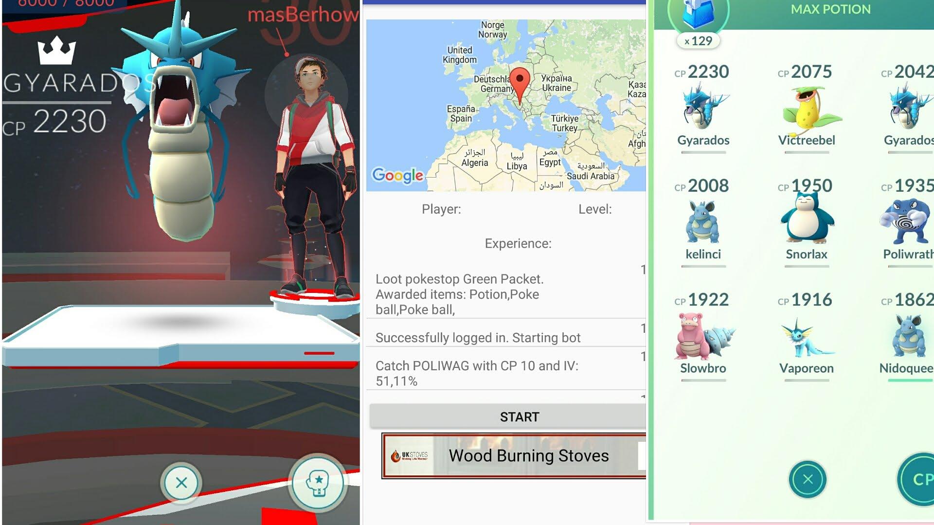Go Simulator Pokemon Go Bot | Level Up Pokemon Go - Droidopinions