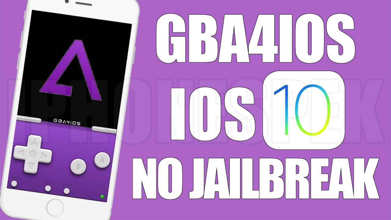 gba4IOS for iOS 10/10.0.2