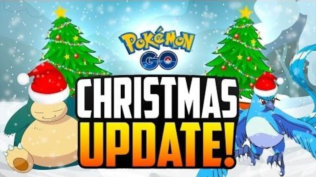 Pokemon Go Christmas Event.Pokemon Go Christmas Event And Updates Droidopinions