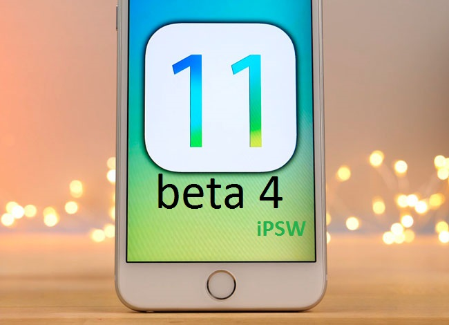 ios 11 beta 4 ipsw download links
