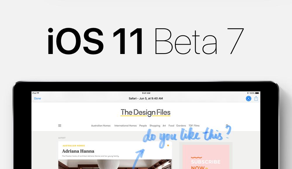 ios 11 beta 7 ipsw
