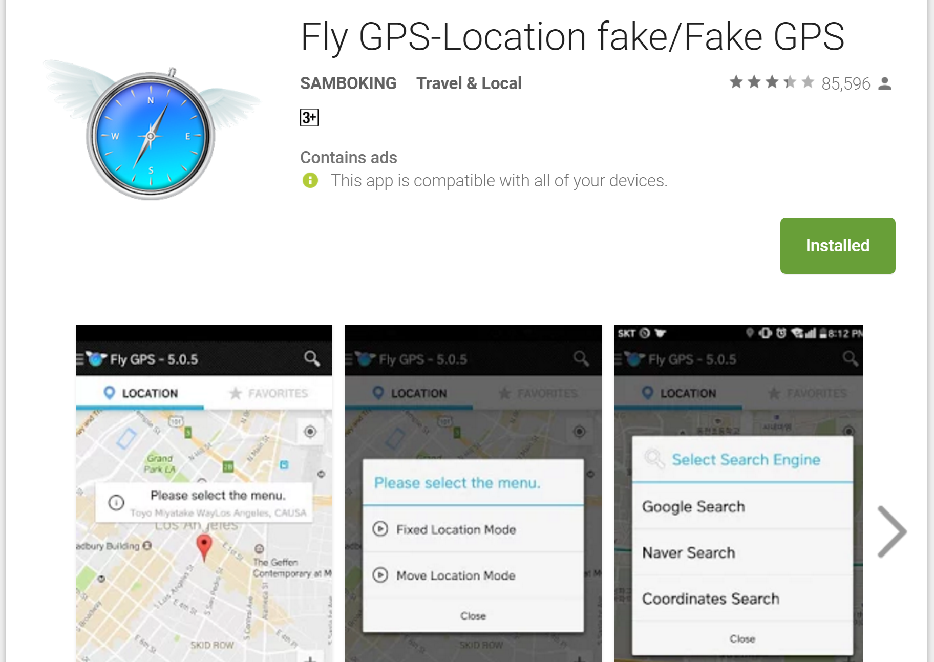 fly gps 5.0.8 apk android