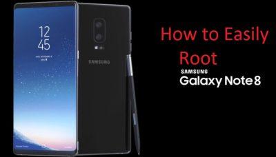 Root Galaxy Note 8 N950F, N950FD (Working !!) Easiest Way