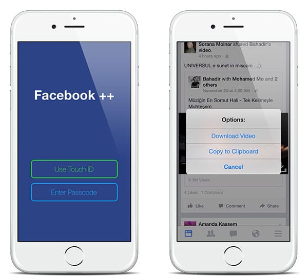facebook++ iOS 15