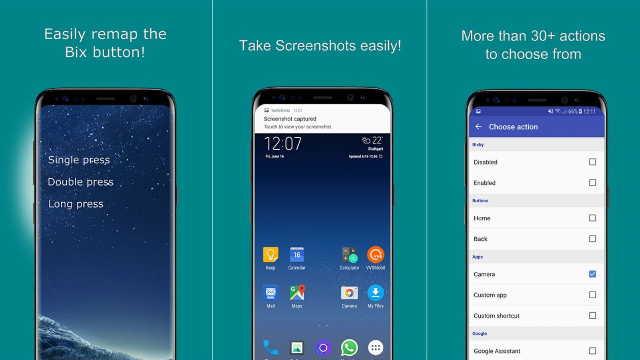 bxActions Pro Apk [free] - Remap Bixby Button to do Other