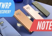 twrp custom recovery galaxy note 9