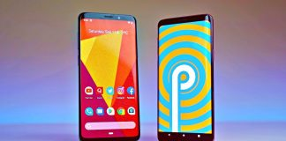 galaxy s9 and s9 plus 9.0 pie