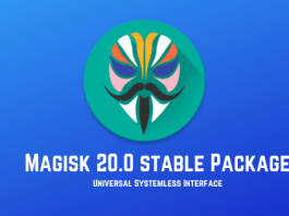 magisk v20.0 stable package