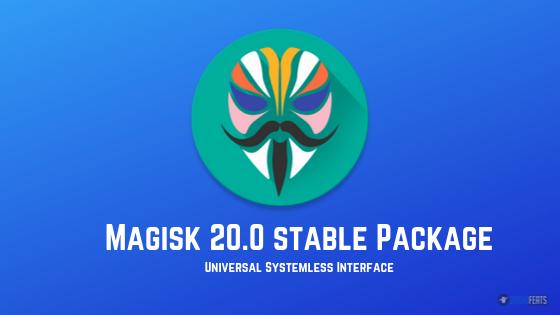 magisk v20.0 stable package