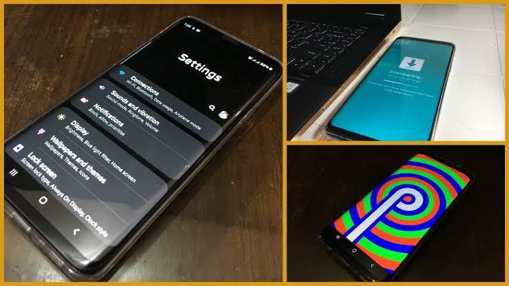 9.0 pie one ui on S9 g960u or s9 plus g965u