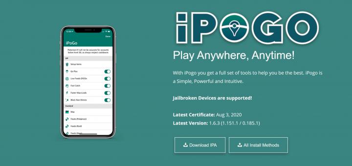 iPogo ipa download